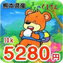 【29年産】【玄米】九州 熊本県産森のくまさん 5キロ×2