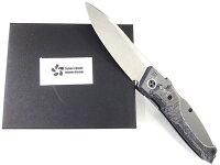 根本朋之デザインSKR03210タクティカルフォルダーサクラフォルダーフォールディングナイフS35Vストーンウォッシュ仕上セラミックカーボン&ジルコニア合金【10016808】