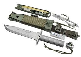 AITORアイトールジャングルキングIシルバーサバイバルナイフ