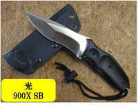 光(ヒカリ)ハンチングナイフ009XSBD2黒G10カイデックスケース【HIKARI-009X-SB】【10015036】