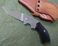 MOKIモキMK-501Cガンブレードフォールディングナイフ黒檀AUS-8