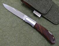 MOKIモキMK-544IフォールディングナイフアイアンウッドATS-34