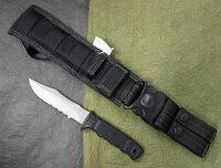 SOGソグST-10M/MFTBミニSEALナイフSEALPUPミリタリーシースブラック日本製MadeinJapan