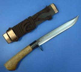 DOI Yoshiaki made slender swords machetes double edged 7-210 mm DOI type blank steel interrupt