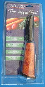 切った野菜が、筒の中にたまるので便利!!JACCARD(ジャカード)The Veggie-Peelザ ベジピー...