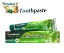 ヒマラヤ トゥースペイスト アクティブ フレッシュ80g(歯磨き粉) Himalaya Active Fresh Toothpaste 『150時間限定! ポイント最大44倍!お買い物マラソン』 1