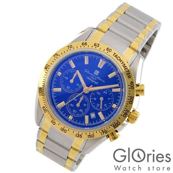 腕時計, メンズ腕時計  SalvatoreMarra SM18106-SSBLGD