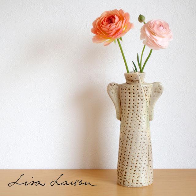 Lisa Larson( リサ・ラーソン ) オブジェ ワードローブ コート 花瓶 ( ベージュ )