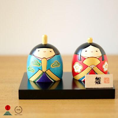 こんなひな人形ならほっこりする。中川政七商店×卯三郎のこけし雛飾り