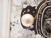 ☆【送料無料】【最安挑戦】【レディース】002 大粒 コットンパール ネックレス シャンパンゴールド パーティ 国産 本物 ガーリー アクセサリー OnLine限定価格 ママコーデ ロンハーマン ginger ジンジャー ELLE 合コン サマンサ