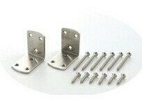 L字金具で家具を固定する!大洋金属 家具固定金具セット 45mm (2個入)