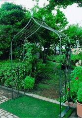 送料無料 幅1.5mのアーチは二人並んで楽々通れる!ガーデンアーチB型 【smtb-s】●W1590×H2470...