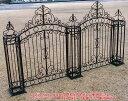 送料無料 イングランド門柱と合わせてご使用ください。イングランドフェンス 0812本体 【smtb-k...