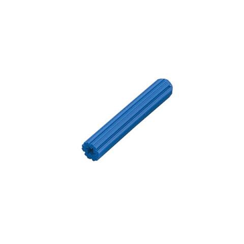 【メール便可】スタープラグ ブルー 8-25 1本 ドリル径:8mm 木ネジ径 :5.8mm [ コンクリート ねじ コンクリートビス コンクリートプラグ diy 工具 作業工具 大工道具 ばら売り バラ売り ]