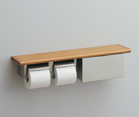 TOTO 棚タイプ(収納タイプ)(R/L兼用)YHB62NBS 木製 [ トイレ 紙巻器 トイレットペ...