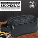 羊革仕様セカンドバッグウエストバッグポーチメンズショルダーバッグbag鞄かばんアウトドアカジュアルファッション