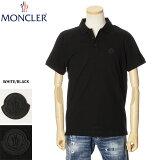 モンクレールMONCLERカノコポロシャツメンズホワイト/ブラックS/M/L/XL0918A7020084556