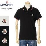 モンクレールMONCLERカノコポロシャツメンズブラックS/M/L/XL/2XL/3XL0918A7030084556