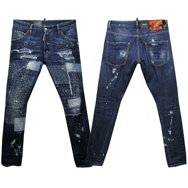 DSQUARED2 CLASSIC KENNY TWIST JEAN メンズ ジーンズ[36039] ブルー系 S71LB0219 S30281 470