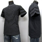 HYDROGEN メンズ Tシャツ[38019] チャコールグレー系 200018 163 ANTHRACITE MELANGE