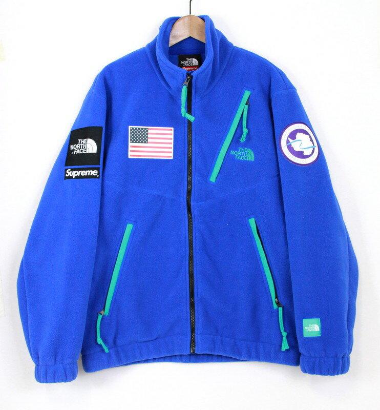 Supreme×The North Face/シュプリーム×ノースフェイス Fleece Jacket シュプリーム ノースフェイス フリース ジャケット サイズ:M カラー:ブルー【中古】【古着】【USED】【170422】s7 未ya:select7