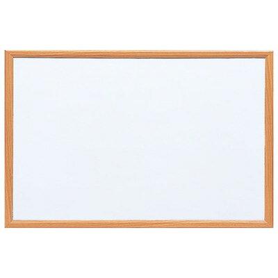 ナカバヤシ ウッドホワイトボード W900×H600 WBM-9060NM(ナチュラル木目)