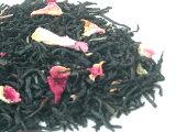 バラの花びらをちりばめた華やかな紅茶 Rosy tea (ロージーティー) 100g (50g x 2袋) 【あす楽対応】