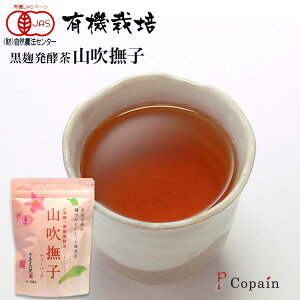 [Shizuoka Tea] Organic Black Koji Fermented Tea Yamabuki Nadeshiko << Tea Pack >>