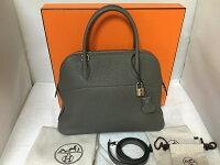 【SELECTHOUSE☆セレクトハウス】HERMESエルメスボリード31オレンジハンドバッグ