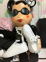 【SELECTHOUSE☆セレクトハウス】【YDKG-k】【smtb-k】【W3】15CクルーズシャネルCHANELCC刺繍シューズレザーエスパドリーユ
