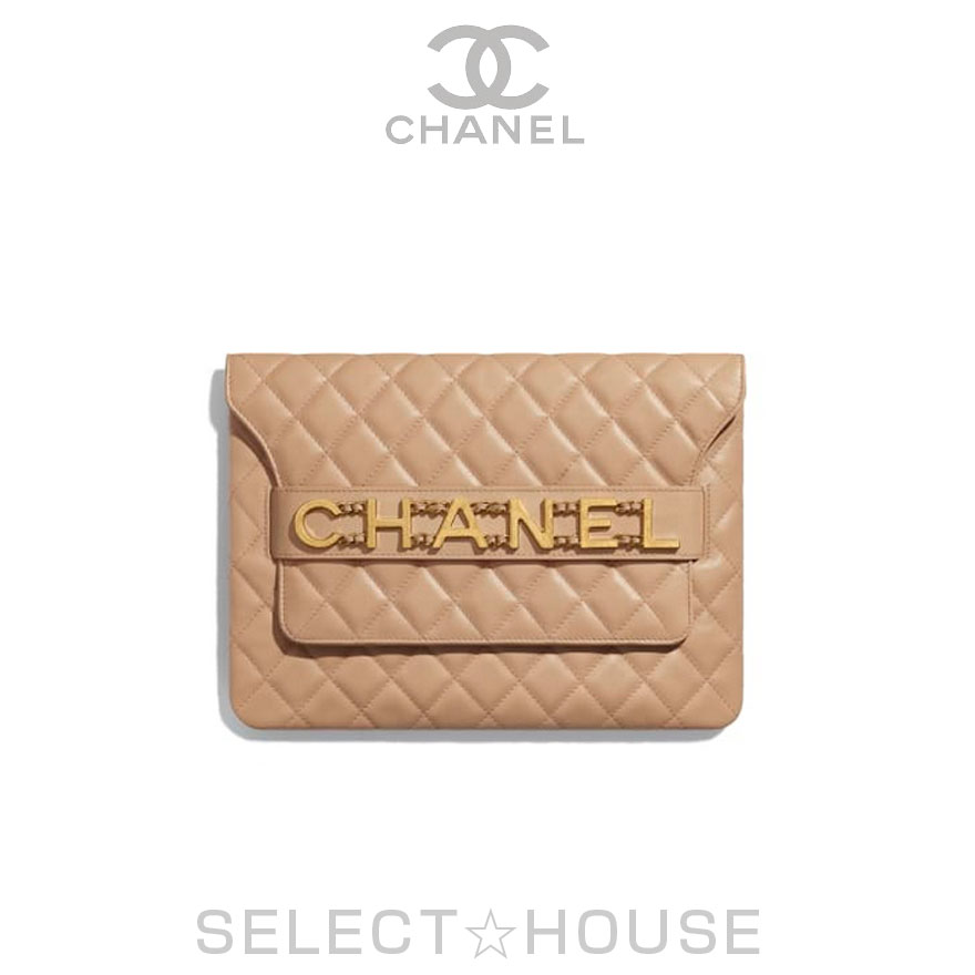 CHANEL Chanel [20P] flap case [Free Shipping] [SELECTHOUSE ☆ select House] [overseas regular store direct purchase goods] bag clutch bag 20 spring and summer