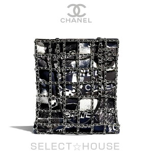 CHANEL [20P] Shopping bag [Free shipping] [SELECT HOUSE ☆ Select house] [Overseas regular store direct purchase] Ladies bag Shoulder bag 20 Spring/Summer