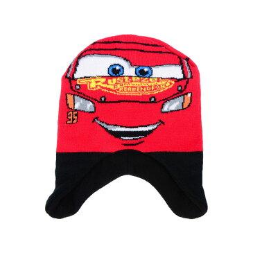 お取り寄せ ディズニー Disney US公式 キッズ 男の子 女の子 ライトニングマックイーン カーズ ニットキャップ 手袋 セット