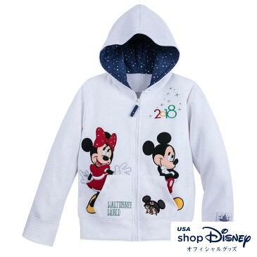 お取り寄せ ディズニー Disney US公式 キッズ 男の子 女の子 ミッキーマウス フレンズ パーカー フーディー