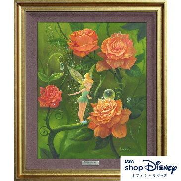 お取り寄せ ディズニー Disney US公式 ティンカーベル ピーターパン アートフレーム 限定版 Michael Humphries