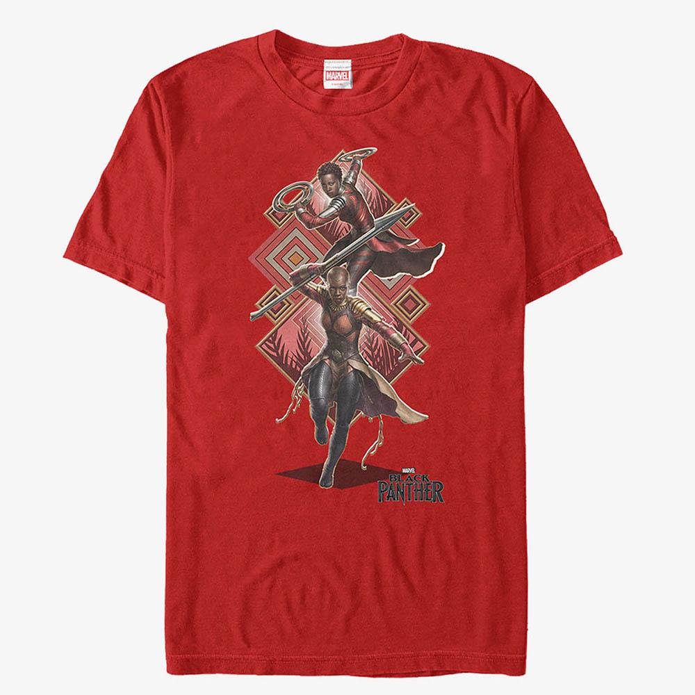 マーベル Marvel レディース メンズ兼用 オコエ ブラックパンサー Tシャツ 半袖