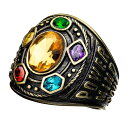 マーベル Marvel サノス アベンジャーズ リング 指輪 インフィニティ ガントレット レディース メンズ 即日発送可