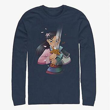 ディズニー Disney ムーラン Tシャツ 長袖 長袖/ロングスリーブ レディース メンズ
