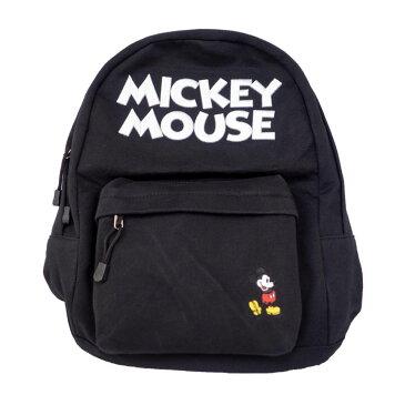 ディズニー Disney ミッキーマウス 刺繍ロゴ スウェットリュック イーカム E-Come ブラック ギフト プレゼント