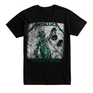 Metallica メタリカ ...And Justice For All Tシャツ メンズ