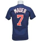 MLB ツインズ ジョー・マウアー Tシャツ ネイビー マジェスティック Player Tシャツ