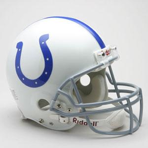 NFL コルツ ヘルメット 58-77 リデル/Riddell Throwback Authentic On-Field Helmet
