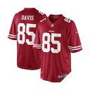 お取り寄せ NFL 49ers バーノン・デービス ユニフォーム スカーレット ナイキ Limited ユニフォーム