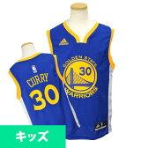 NBA ウォリアーズ ステファン・カリー キッズユニフォーム ロード アディダス Youth Revolution 30 Replica ユニフォーム