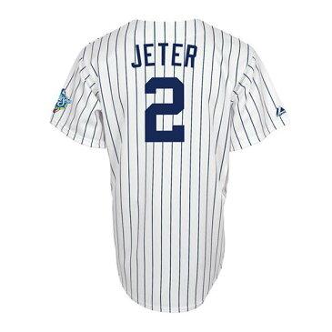 MLB ヤンキース デレク・ジーター ユニフォーム ホーム Majestic