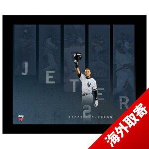 【取寄】MLBヤンキース#2デレク・ジーター14TimeAllStarStepstoSuccess16x20FramedCollageSteinerSports