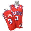 NBA 76ers アレン・アイバーソン ユニフォーム ロード 02-03 Adidas