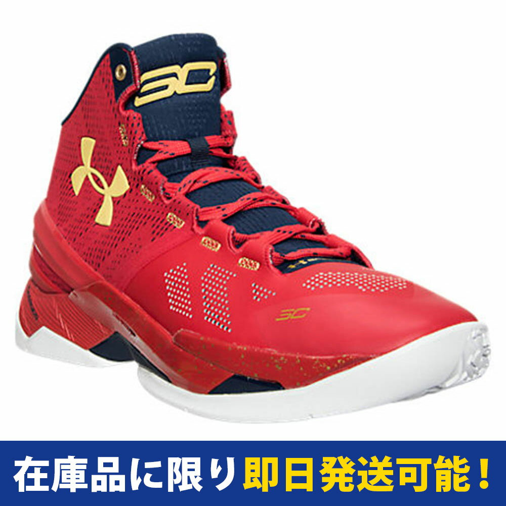 SC30 UA カリー 2 Curry 2 UNDER ARMOUR レッド/ゴールド:メジャーアメフト即納店SELECTION