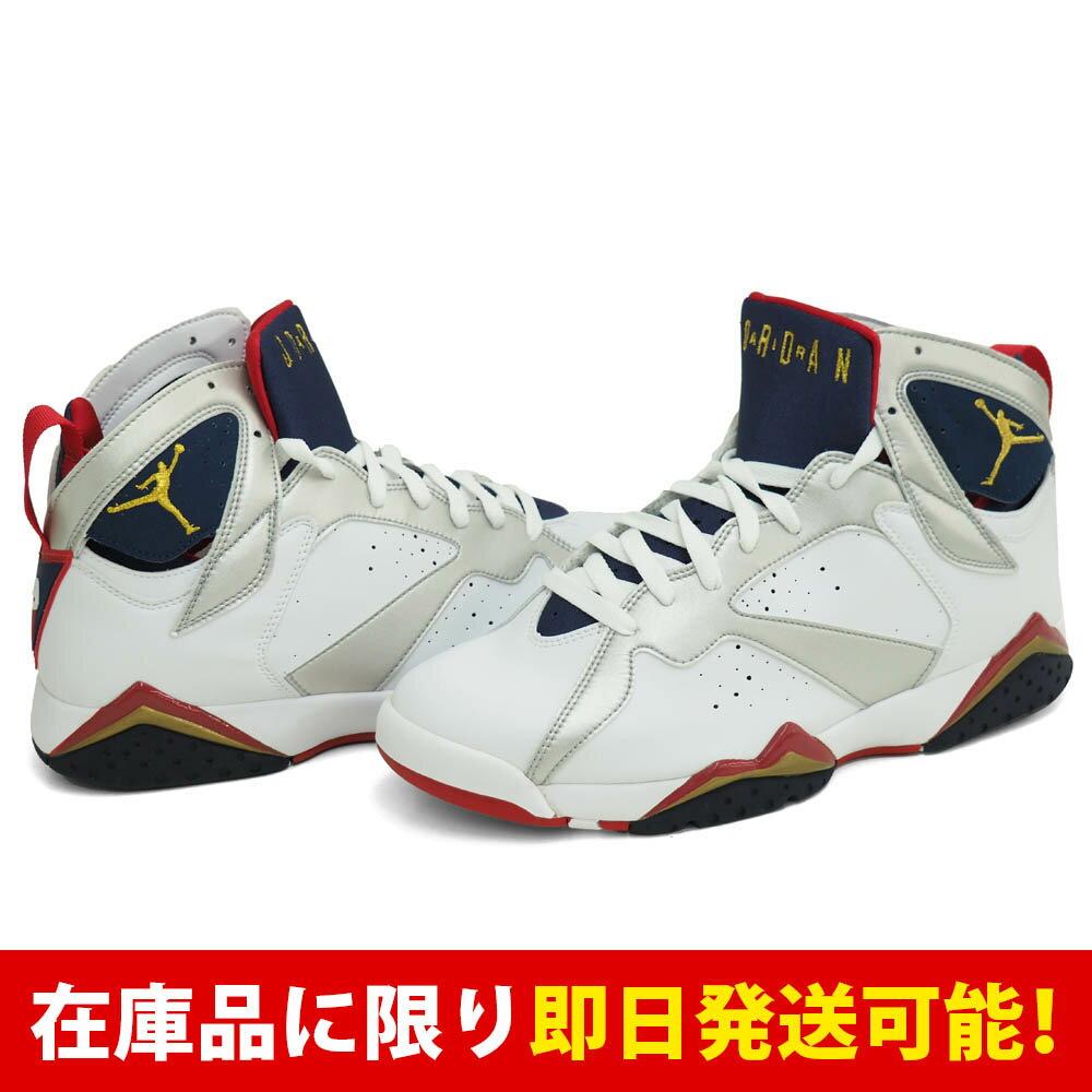 ジョーダン JORDAN AIR 7 ナイキ Nike White Metallic Gold-Midnight Navy-True Red:メジャーアメフト即納店SELECTION