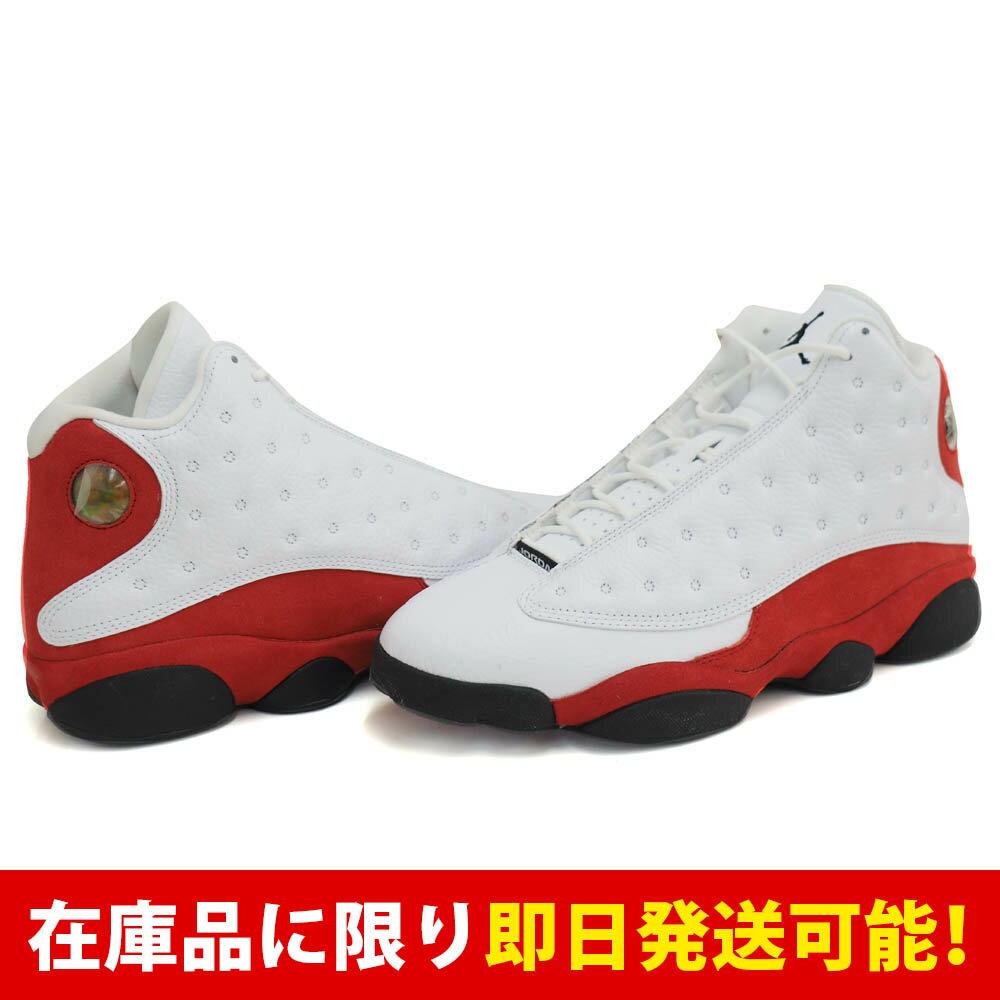 ジョーダン JORDAN AIR 13 ナイキ Nike White Black-Varsity Red:メジャーアメフト即納店SELECTION